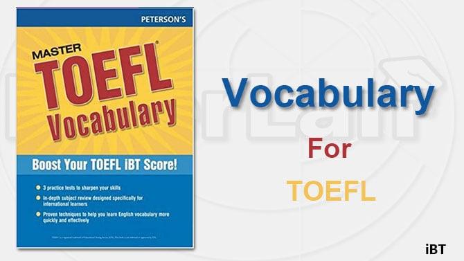 vocabulary toefl cover