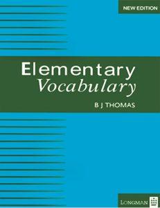کتاب Vocabulary Elementary