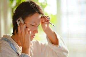 calling sick