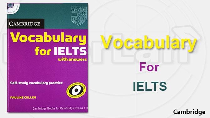 کتاب Cambridge Vocabulary for IELTS